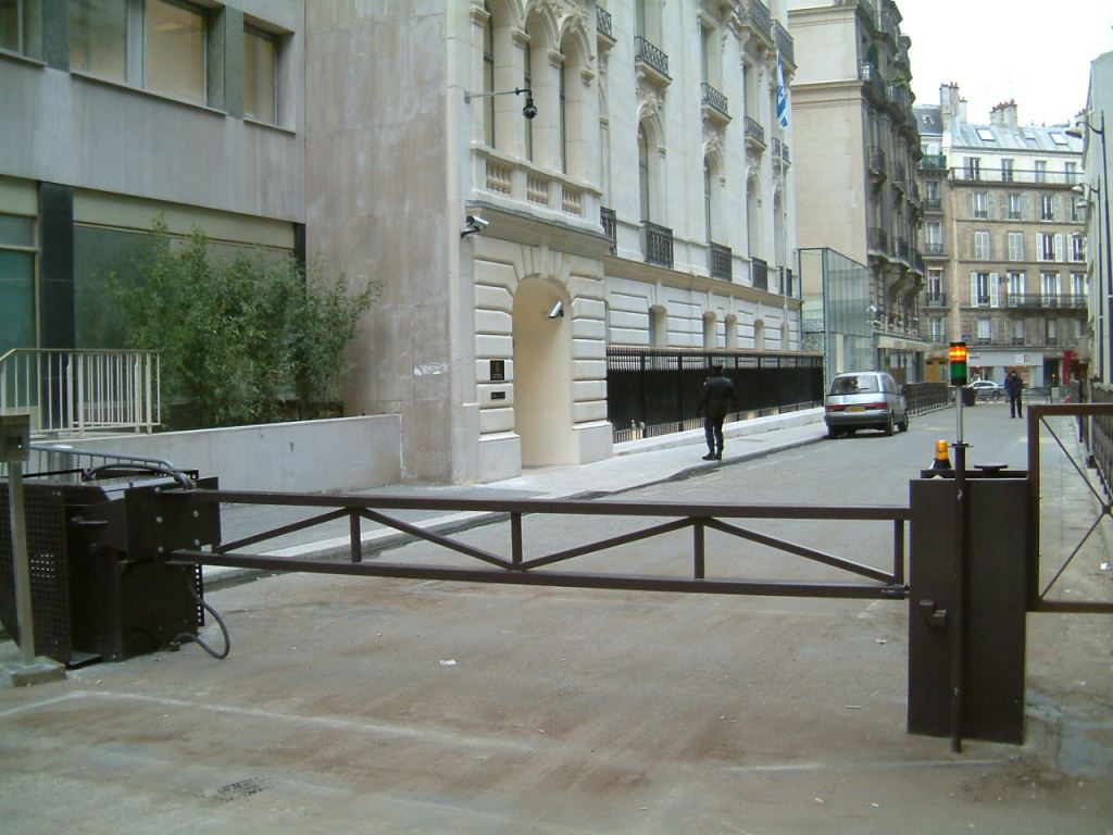 High Security Arm Barriers